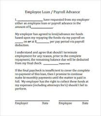 Company Loan To Employee Agreement Simple Loan Agreement 14 Free Pdf Word Documents