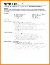 House Cleaning Resume Sample Cleaning Resume Resume Online Builder 53