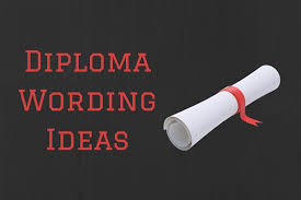 Diploma Wording Diploma Wording Ideas Ready To Use Paperdirect Blog