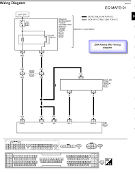 nissan altima <br ><br >i would like to use a mass air flow sensor full size image