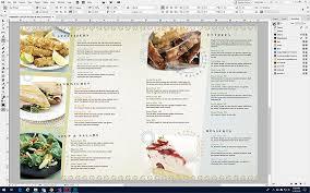 Food Menu Design Make A Restaurant Menu Design Your Own Menus Stocklayouts