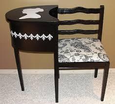 Black Telephone Table  FoterTelephone Bench Seat