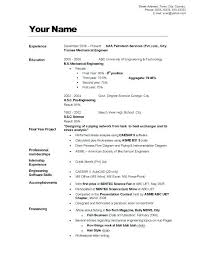 Great Example Resumes Cool Example For A Resume Great Example Resume Examples Resumes Of A Good