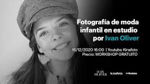 Fotografía de moda infantil con Ivan Oliver - Workshop Kinafoto - YouTube