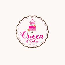 Bakery Logos Design Qween Of Cakes Bakery Logo