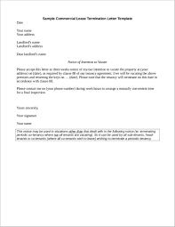 Termination Letter Template Free 31 Contract Termination Letter Format Samples And