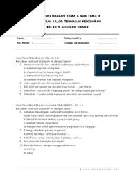 1.6 contoh soal ph kelas 1 + kunci jawaban. Soal Tematik Kelas 5 Sd Tema 1 Subtema 3 Lingkungan Dan Manfaatnya Dilengkapi Kunci Jawaban Www Bimbelbrilian Pdf