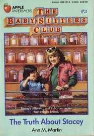 baby sitters club the truth about stacey book review