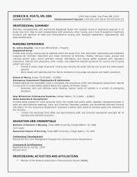 Nursing Resume Template 2018 New 48 Nursing Resumes 48 Best Resume Templates