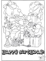 Free Happy Birthday Coloring Pages Get Coloring Pages