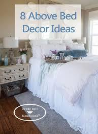 diy wall decor above bed