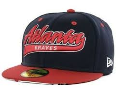 Details About Atlanta Braves New Era 59fifty Kids Mlb Baseball Fitted Cap Hat 6 5 8 6 3 4