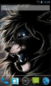 free wild lion live wallpapers apk