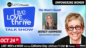 Ep. #112 Acting Up with Wendy Hammers, Director, Actress & Comedian -  YouTube