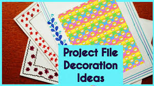 File Decoration Design Project File Design Decoration ideas New 100 Border Designs 2