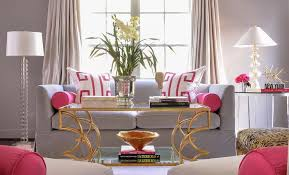 pink and gray living rooms view full size