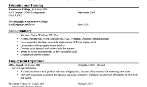 Skill Types For Resume Resume Types And Sles Examples Of Resumes