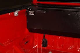 retractable bed covers for pickup trucks angled front canister