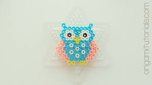 Small Perler Bead Patterns Inspiration Bead Owls Origami Tutorials
