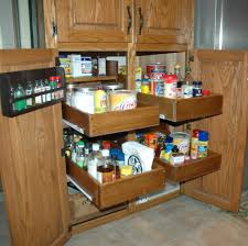 Kitchen Cabinets Sliding Shelves Roll Out Kitchen Shelves Remarkable Corner Kitchen Cabinets With