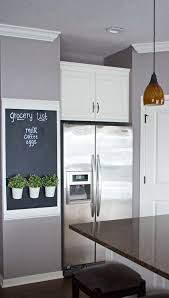 7 fabulous room updates! Kitchen Chalkboard WallsChalkboard IdeasGrey ...