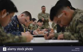 180211 n vy375 003 bell gardens calif feb 11 2018 reserve sailors assigned to navy operational support center nosc los angeles take the e 4 to e 7