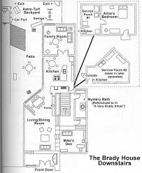 brady bunch house plans elegant 29 best tv and floor plans images on of