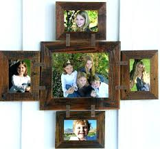 school picture collage frame multiple picture frame rustic 4 and 1 wide multi frame multiple picture frame collage school collage picture frames natury