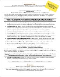 Resume For Career Change 3 Sample An Administrative Services Manager Page 2