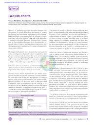 Pdf Growth Charts