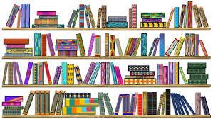 colorful books colorful bookshelf