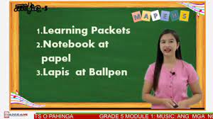 Multiplication and division of fractions and decimal fractions. Grade 5 Mapeh Module 1 Music Nota At Rest Youtube