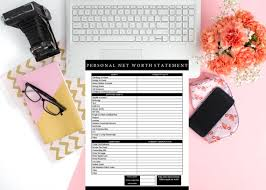 Net Worth Of Business Personal Net Worth Statement Business Forms Template Financial Forms Finance Financial Management Business Tools Net Worth