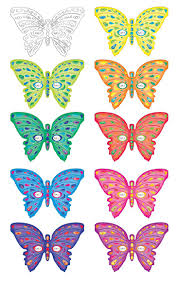 Butterfly Patterns Printable Unique Inspiration Design