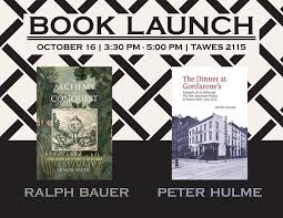 Book Launch: Ralph Bauer and Peter Hulme | College of Arts & Humanities,  University of Maryland