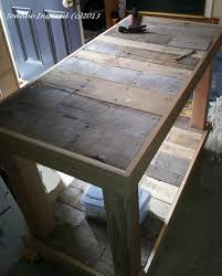 Kitchen Table with work Plan