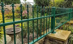 metal garden railings high quality