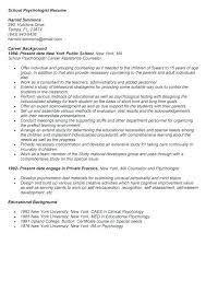 Clinical Psychologist Cover Letter Sample Cover Letter For Psychology Internship Clinical Psychologist