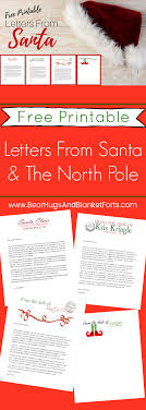 Free Letter From Santa Word Template Free Printable Letters From Santa His Elves Christmas Diy