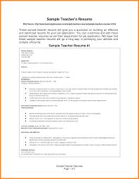 8 How To Write Cv For Teaching Job Barber Resume