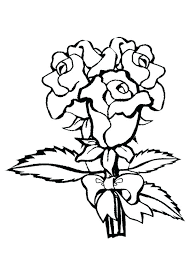 coloring rose pages roses printable for s free of easy skulls and