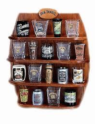 here is the complete set of lenox jack daniels shot glasses