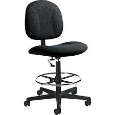 office drafting chair. global deluxe lowback fabric drafting chair armless black office