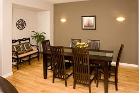 Contemporary Dining Room Paint Ideas With Accent Wall Beautiful In Design