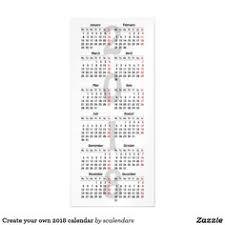 Create Your Own 2018 Calendar Photo Card | Create Your Own ...