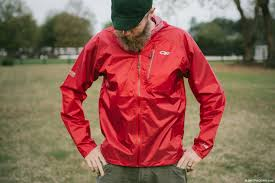 outdoor research helium ii ultralight rain jackets for bike touring and bikeng