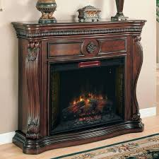 62 electric fireplace in infrared empire cherry