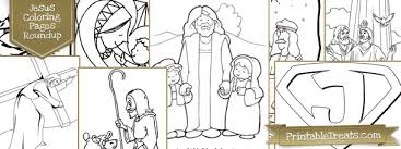 Small Picture 20 Jesus Coloring Pages for Kids Printable Treatscom
