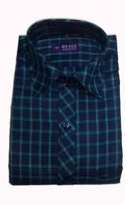 Chex Shirt Design Sai Mens Cotton Mix Design Full Sleeves Chex Formal Shirt