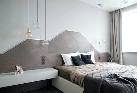 bedroom pendant lighting modern glass triple for with a wooden wall decoration lights australia